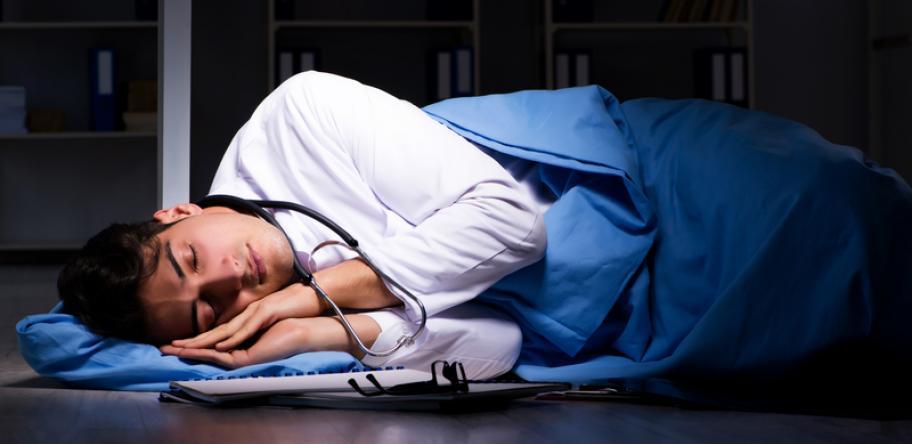 doctor on night shift