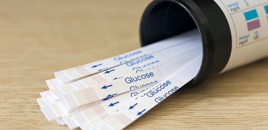 blood glucose strips