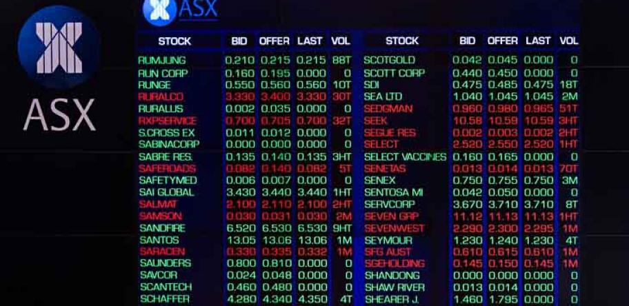 ASX listings
