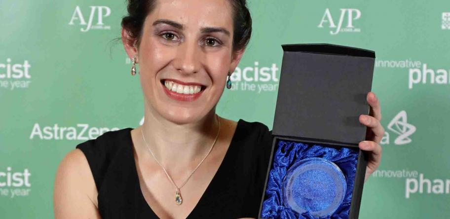 Childhood tragedy inspires pharmacist's winning solution